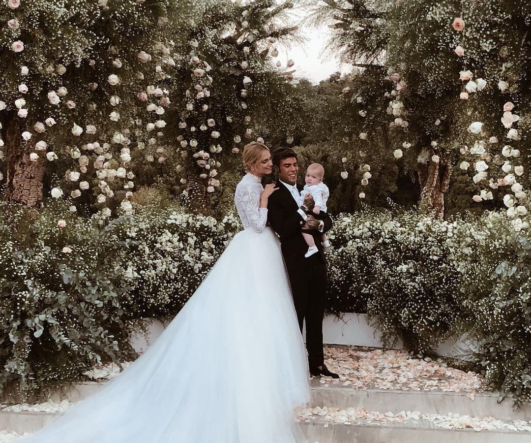 f5793176ee Chiara Ferragni   Fedez  Ο παραμυθένιος γάμος - YourTipster.gr